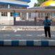 MUSTAHIL RAMPUNG : Pembangunan sarana penunjang dan masjid Anjuk Ladang Nganjuk yang masih memerlukan finishing disana-sini dan mustahil rampung hingga akhir Desember 2019. (ari)