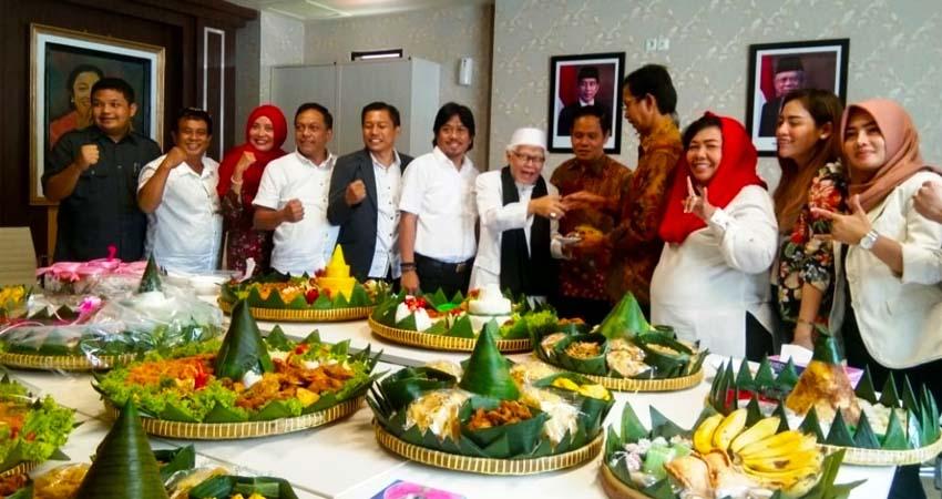 Ruang Fraksi Baru, PDI Perjuangan Surabaya Gelar Tasyakuran