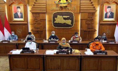 Khofifah Akan Telaah Penerapan PSBB dan Perpu Keuangan di Jatim