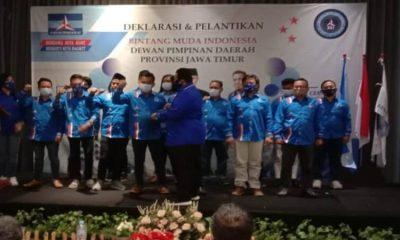 Suasana deklarasi dan pelantikan DPD BMI Provinsi Jawa Timur.