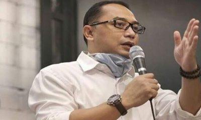 Calon Wali Kota Surabaya Eri Cahyadi paparkan visi misinya di hadapan pengusaha.