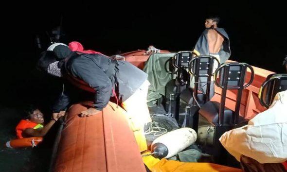 Enam ABK KM Riski Laut 01 dan KM Riski Laut 03 Berhasil Diselamatkan