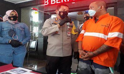 Kurir Narkoba Antar Kota Ditangkap, Simpan Shabu Seberat 161 Gram