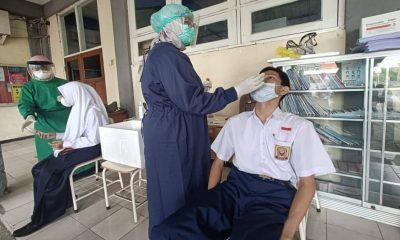 Dispendik Surabaya Lakukan RT-PCR Bagi Siswa dan Guru SMP